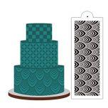 WEDDDING CAKE DECORATION STENCIL