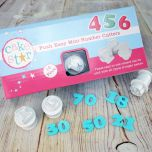 CAKE STAR PUSH EASY MINI NUMBER CUTTER