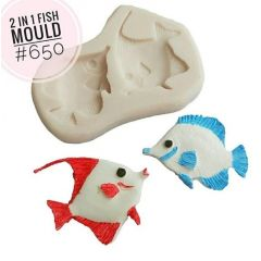 2 IN 1 FISH MOULD