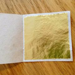 14 CM decorative Gold Leaf Sheets