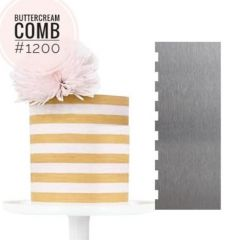 METAL BUTTERCREAM COMB
