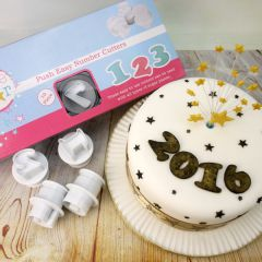 CAKE STAR PUSH EASY NUMBER CUTTER