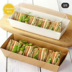 RECTANGLE KRAFT CASES(WHITE)