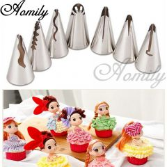 7 PCS FRILL PIPING NOZZLE