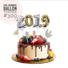 FOIL NUMBER BALLOON TOPPER