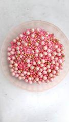 pastel pink mix sprinkles