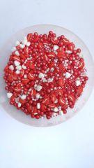 red lip sprinkles