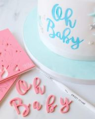 STYLISH LETTER SET (SWEET STAMP)