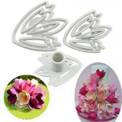 3PCS FLOWER CUTTER