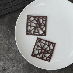 6 CAVITY SQUARE CHOCOLATE MOLD